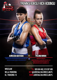 Zapisy na boks i kick-boxing - Adrenalina Boxing Club